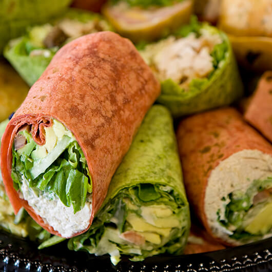 wraps recipes image